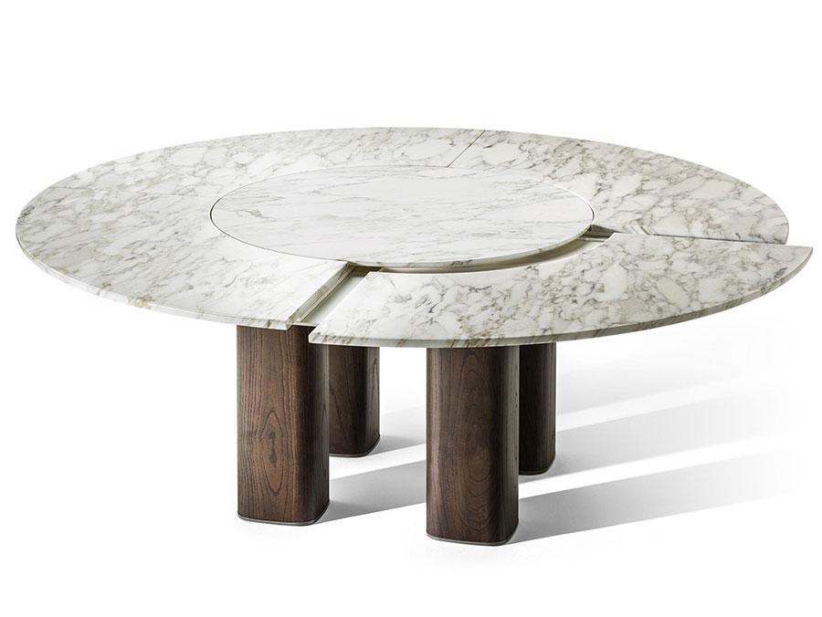 Tavolo allungabile dal design particolare n.31