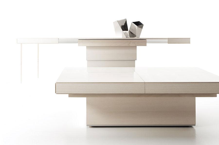 Tavolo allungabile dal design particolare n.35