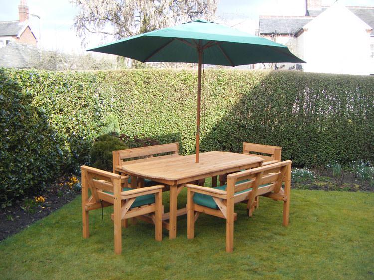 Foto del tavolo da giardino in legno n.03