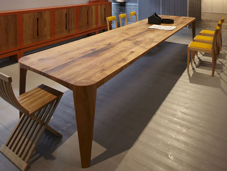 Foto del tavolo da giardino in legno n.35