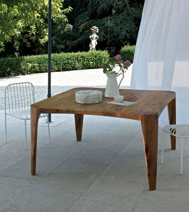 Foto del tavolo da giardino in legno n.36