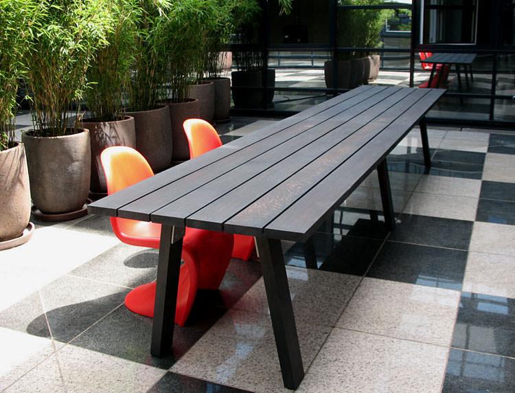 Foto del tavolo da giardino in legno n.39