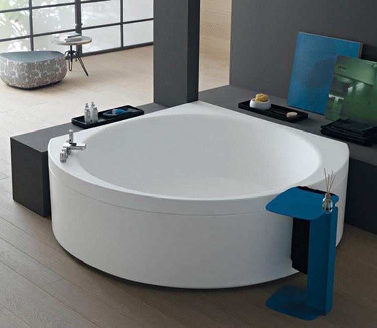 Vasca da bagno angolare moderna n.01