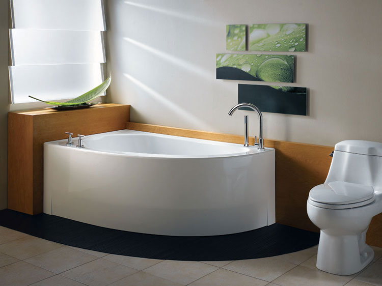 Vasca Da Bagno Piccola Economica : Bellissime vasche da bagno angolari moderne mondodesign