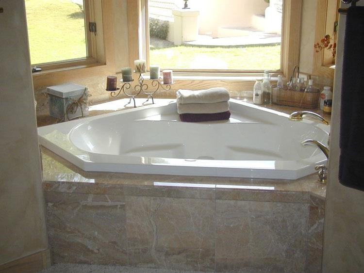Vasca da bagno angolare moderna n.03