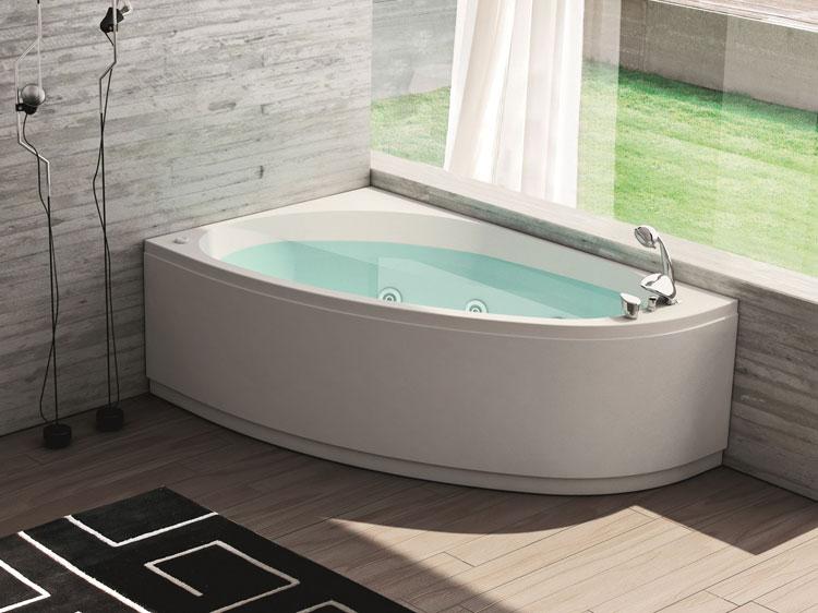 Vasca Da Bagno Piccola Design : Bellissime vasche da bagno angolari moderne mondodesign