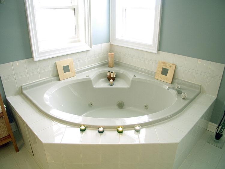 Vasca da bagno angolare moderna n.28