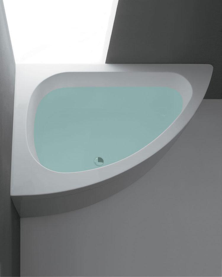 Vasca da bagno angolare moderna n.29