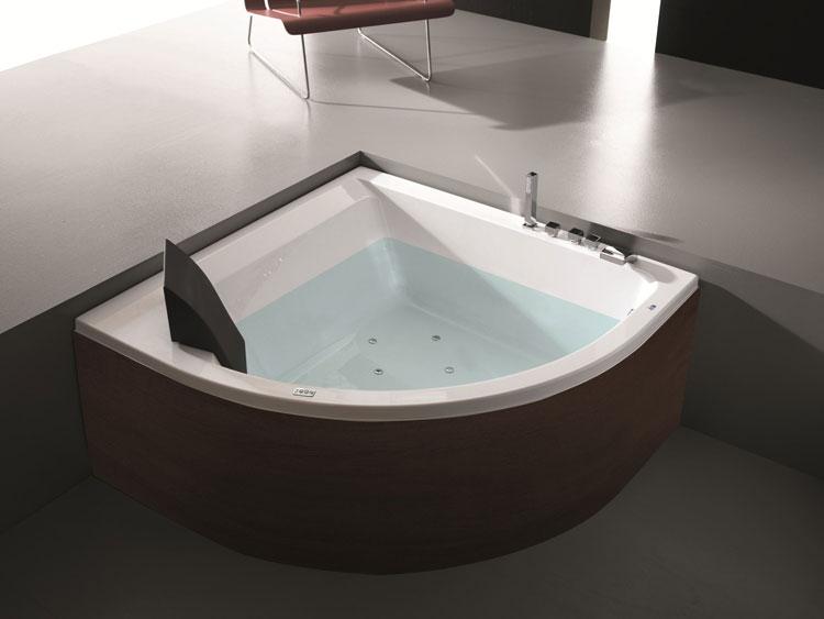 Vasca da bagno angolare moderna n.34