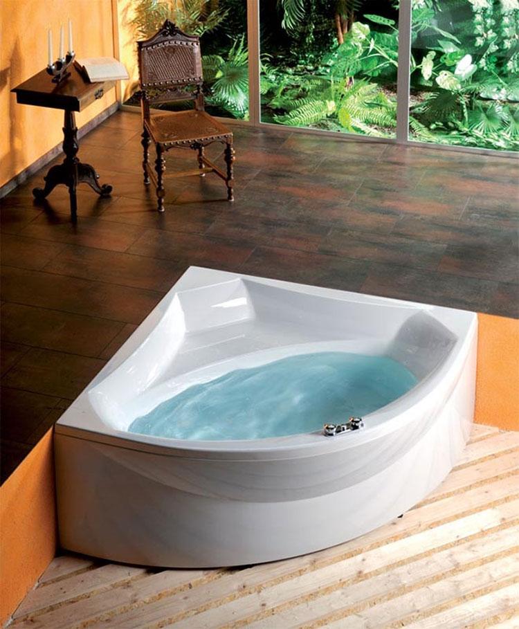 Vasca da bagno angolare moderna n.37