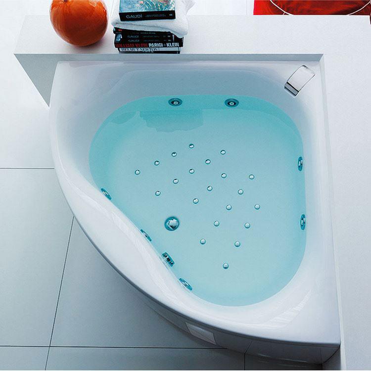 Vasca da bagno angolare moderna n.40