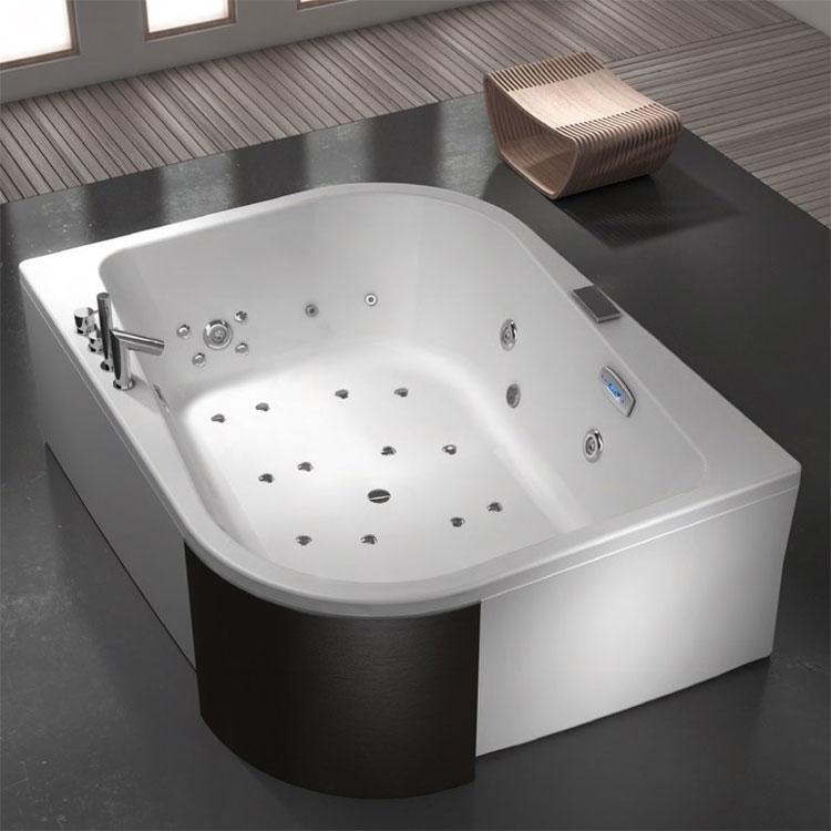 Vasca da bagno angolare moderna n.41