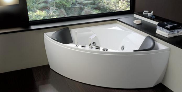 50 Bellissime Vasche da Bagno Angolari Moderne