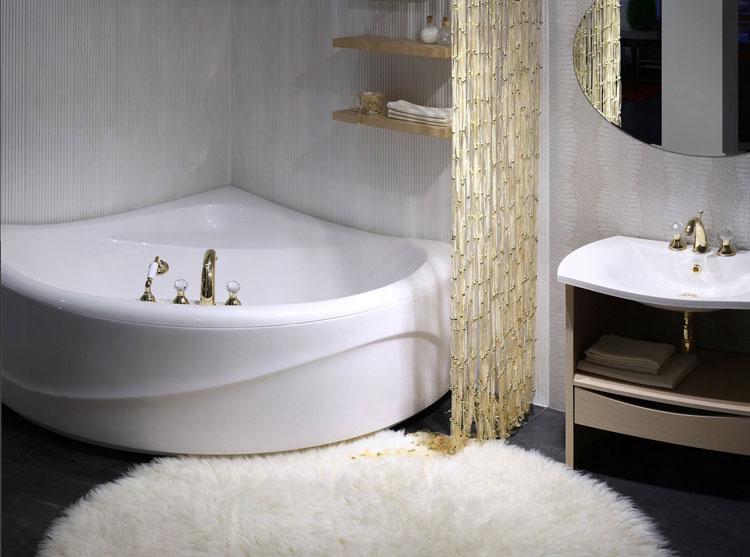 Vasca da bagno angolare moderna n.50