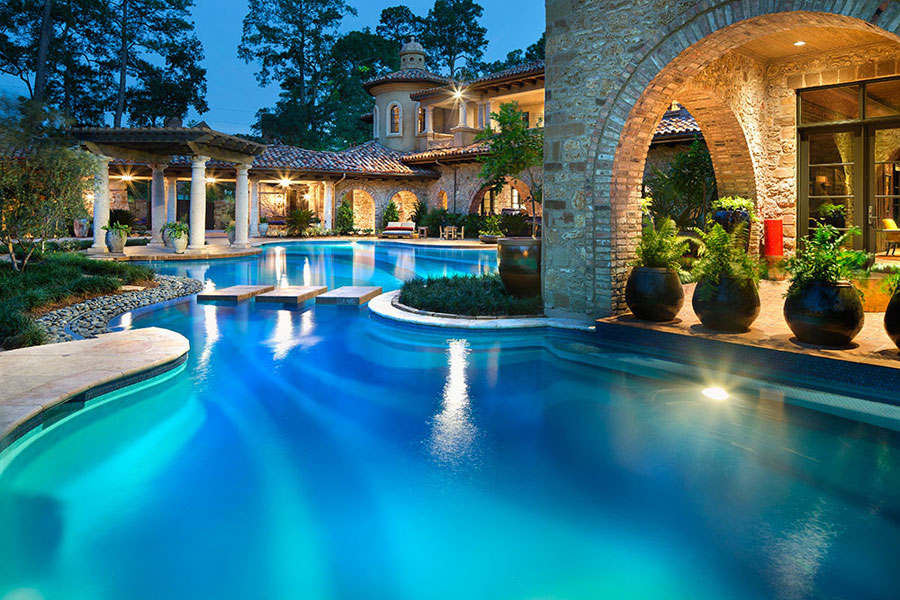 16 spettacolari ville di lusso con piscina - Foto di piscine interrate ...