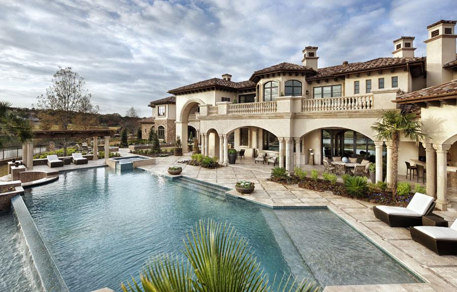 16 spettacolari ville di lusso con piscina for Progetti di piscine e pool house