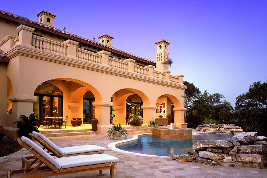 16 spettacolari ville di lusso con piscina for Immagini case di lusso