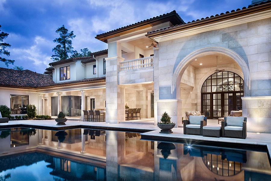 16 spettacolari ville di lusso con piscina for Ville moderne design