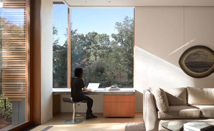 Arredamento per ufficio a casa con vista panoramica n.05