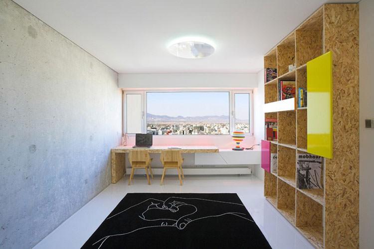 Arredamento per ufficio a casa con vista panoramica n.06