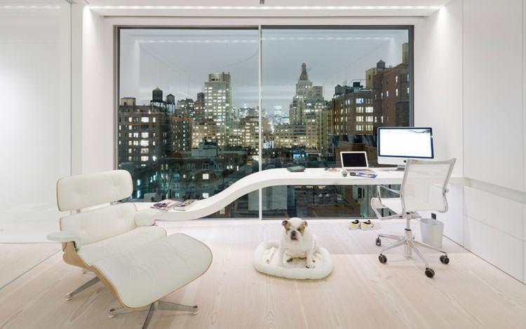 Arredamento per ufficio a casa con vista panoramica n.08