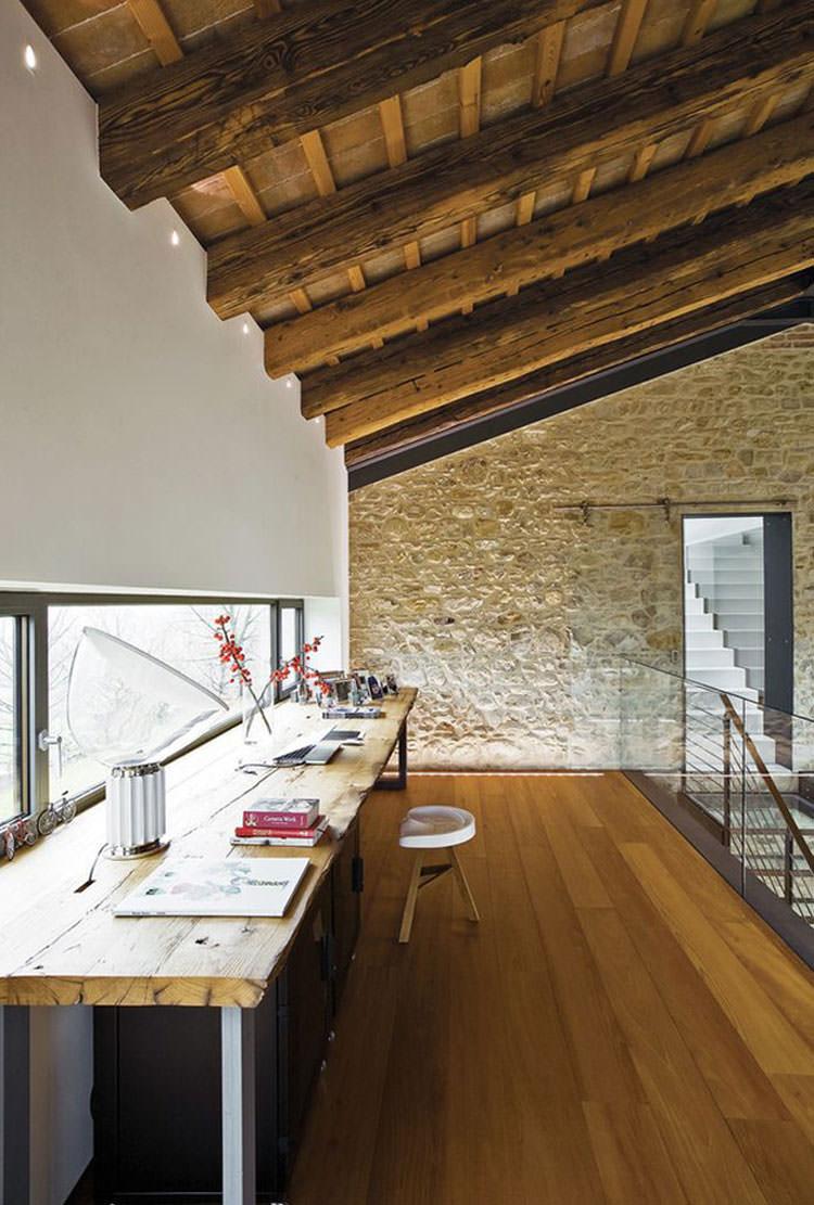 Arredamento per ufficio a casa con vista panoramica n.15