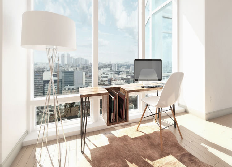 Arredamento per ufficio a casa con vista panoramica n.18