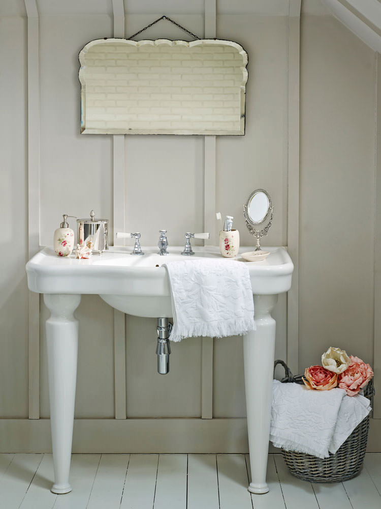 Bagno shabby chic in stile provenzale n.04