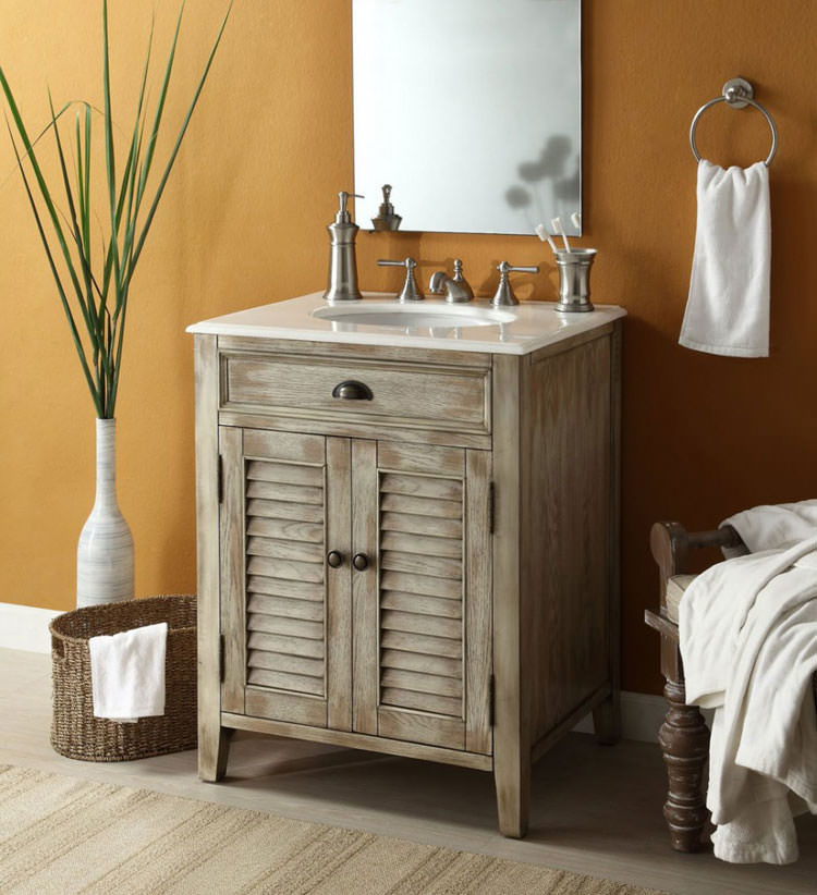Bagno shabby chic in stile provenzale n.06