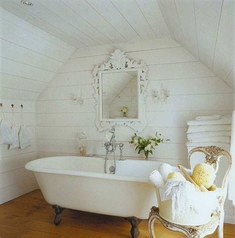 Bagno shabby chic in stile provenzale n.07