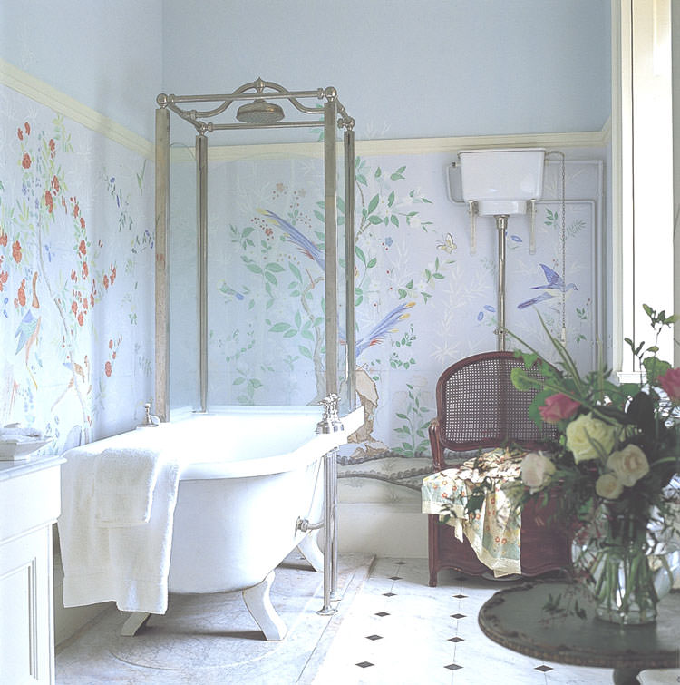 Bagno shabby chic in stile provenzale n.08