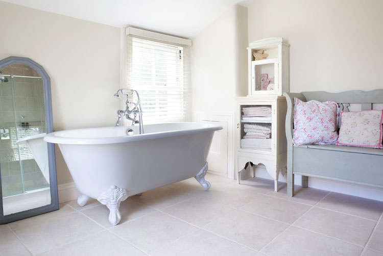 Bagno shabby chic in stile provenzale n.11