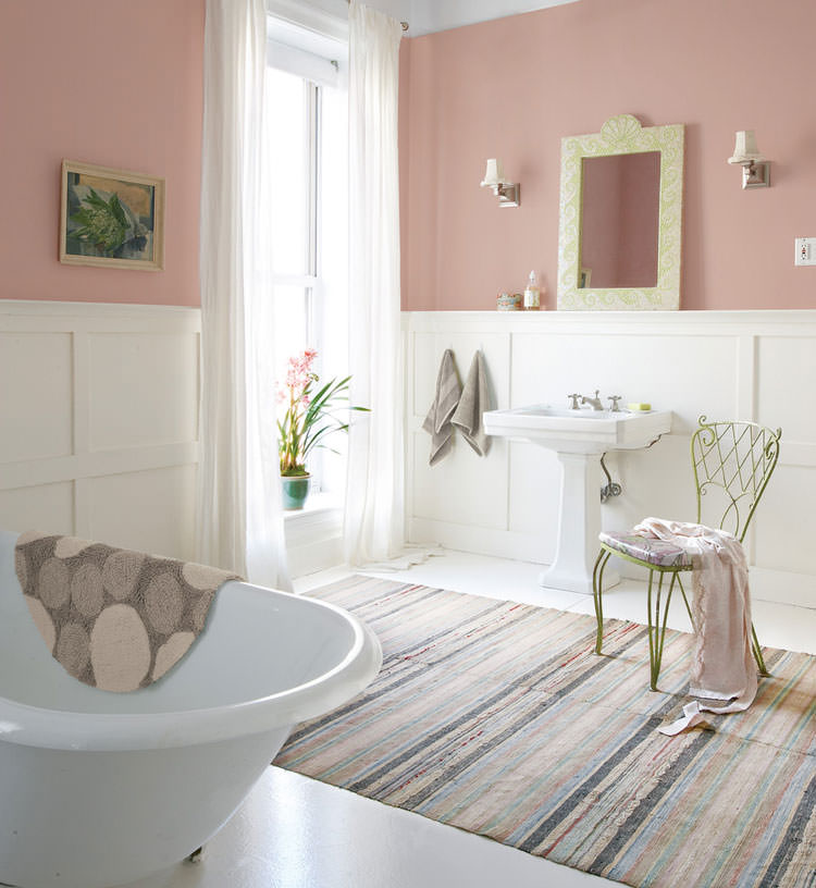Bagno shabby chic in stile provenzale n.12