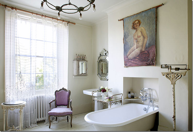 Bagno shabby chic in stile provenzale n.18