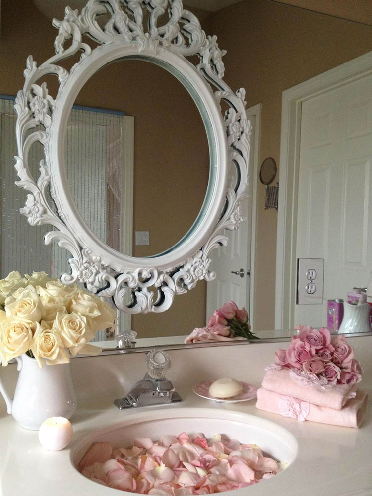 Bagno shabby chic in stile provenzale n.27