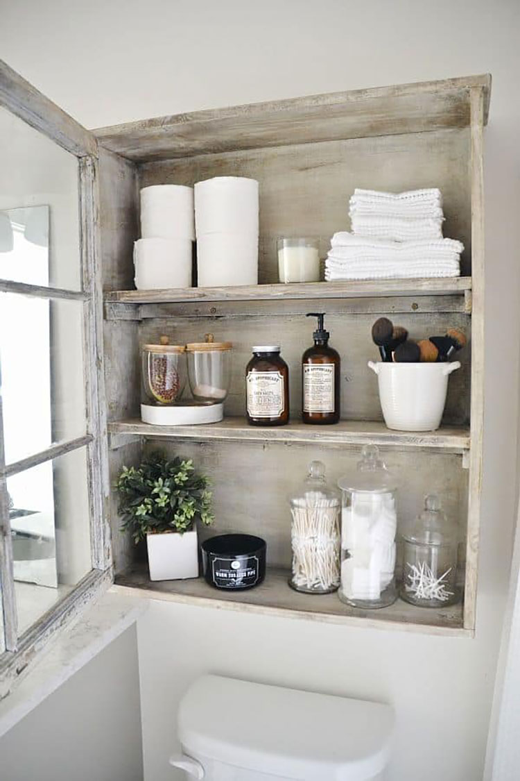 Bagno shabby chic in stile provenzale n.30