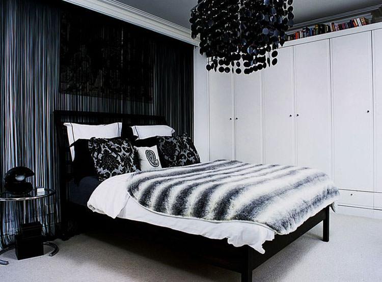 Camere Da Letto Moderne Bianche E Nere.50 Eleganti Camere Da Letto In Bianco E Nero Mondodesign It