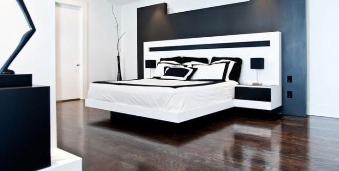 35 Eleganti Camere da Letto in Bianco e Nero