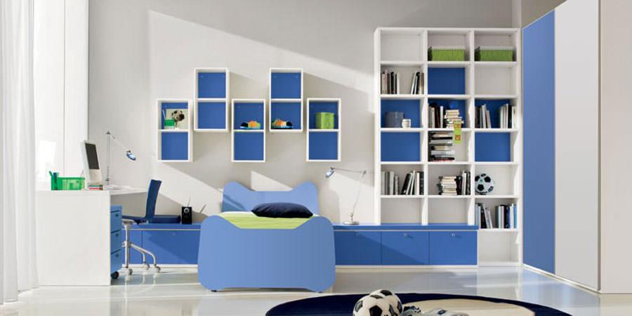 40 esempi di camerette moderne per bambini - Mobili per bambini design ...