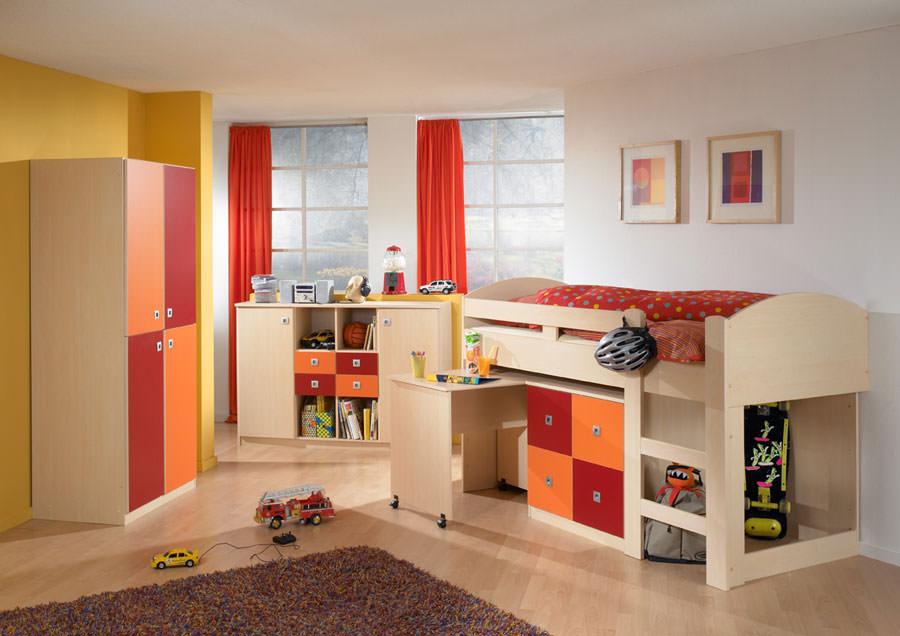 Cameretta per bambini dal design moderno n.16