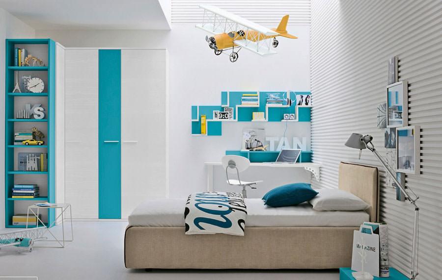 40 esempi di camerette moderne per bambini for Camerette particolari per bambini