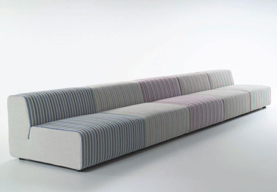 Divano modulare dal design moderno n.04