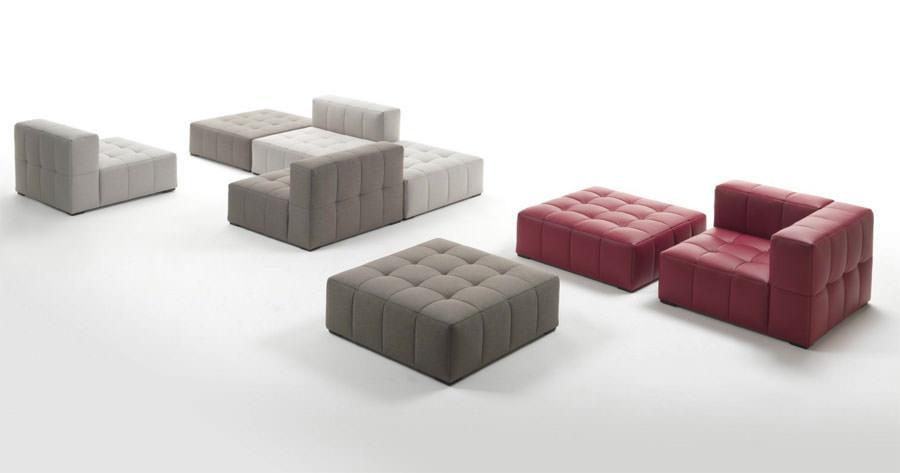 Divano modulare dal design moderno n.05