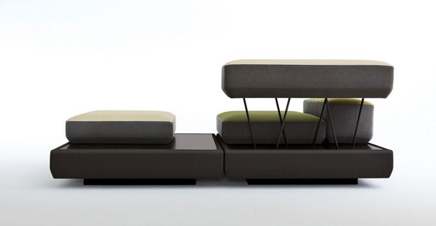 Divano modulare dal design moderno n.06