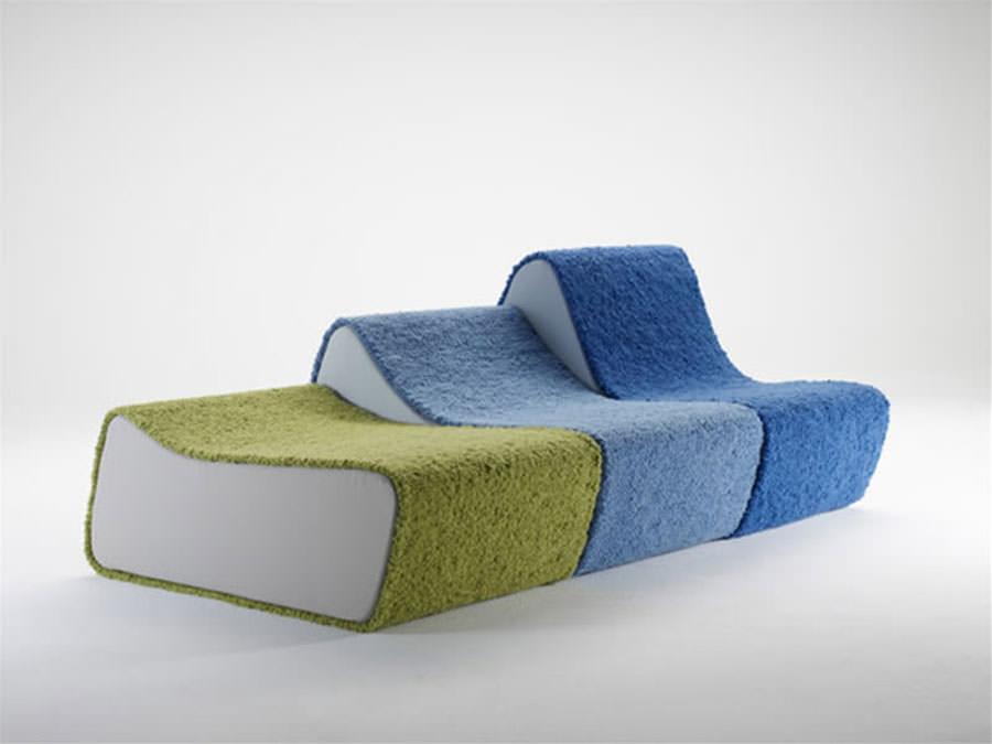 Divano modulare dal design moderno n.07