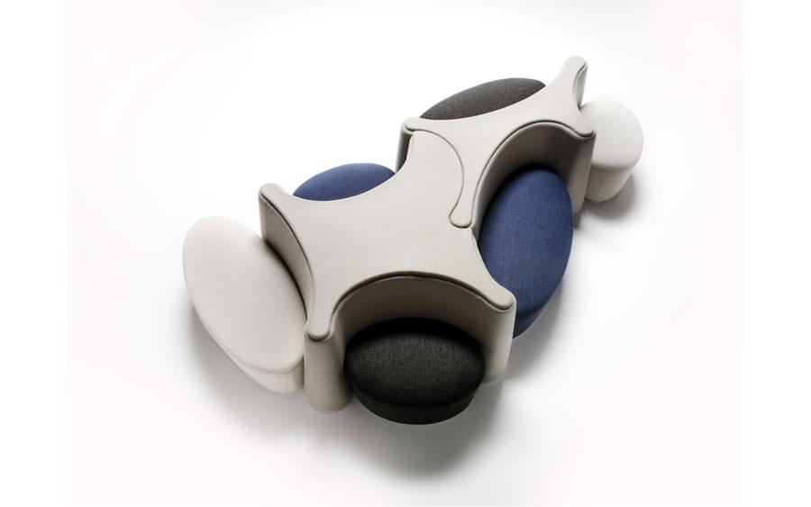 Divano modulare dal design moderno n.08
