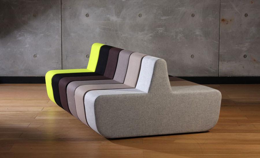 Divano modulare dal design moderno n.09