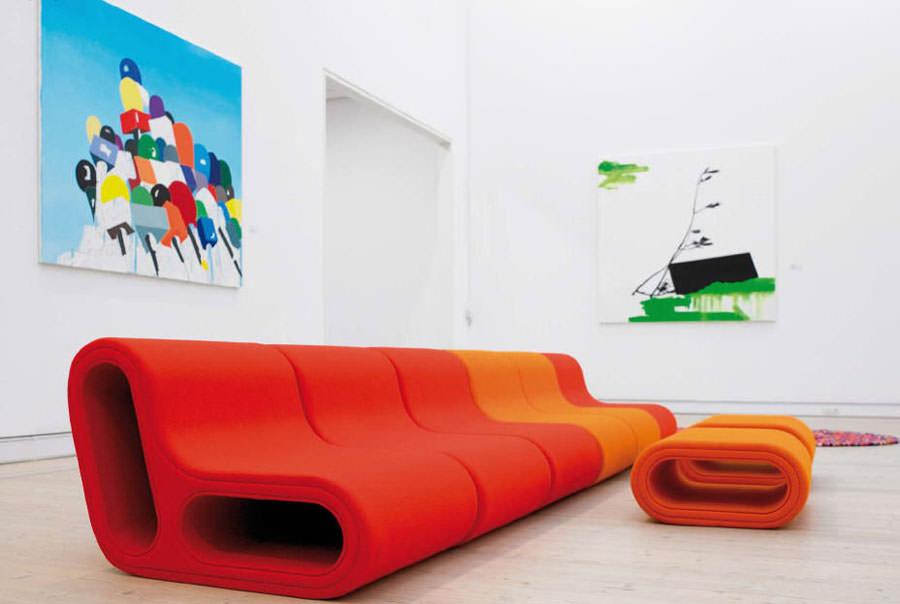 Divano modulare dal design moderno n.10