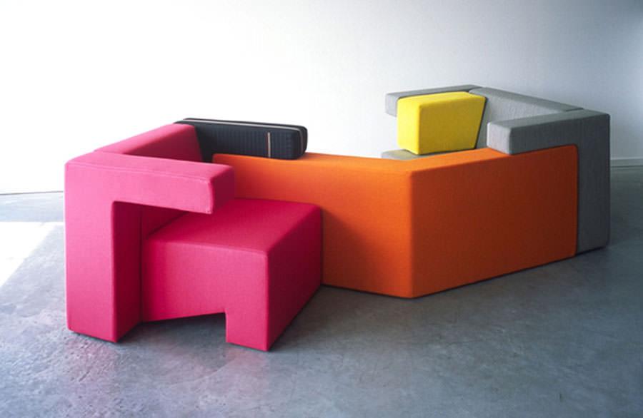 Divano modulare dal design moderno n.11