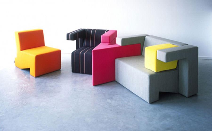 Divano modulare dal design moderno n.12
